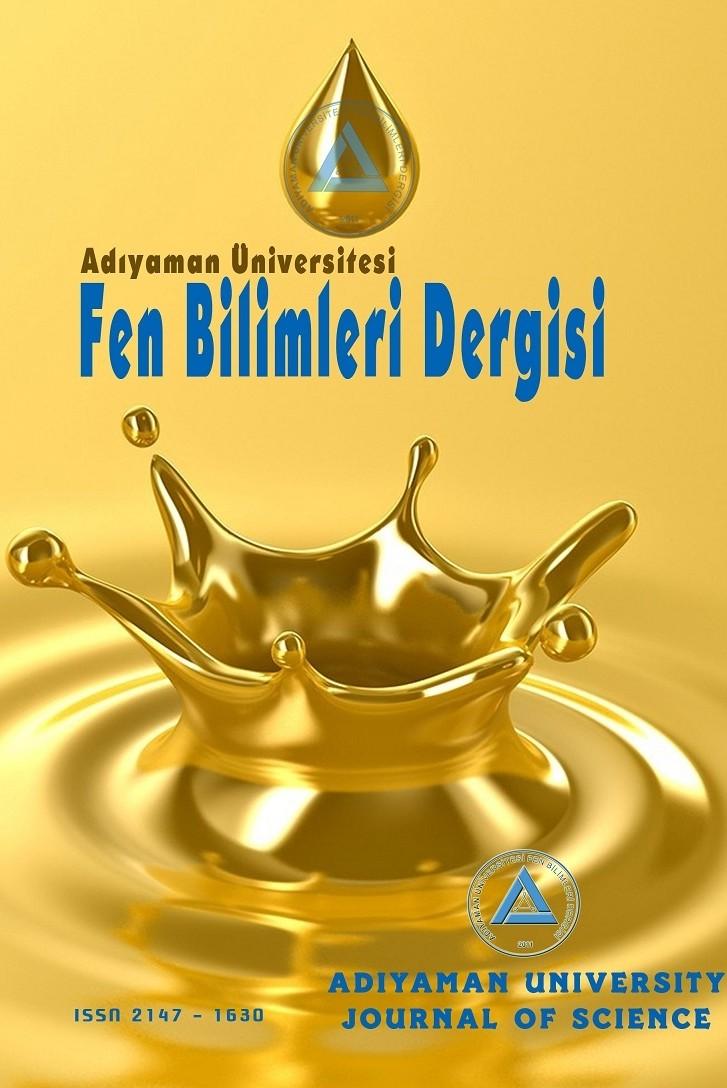 Adıyaman Üniversitesi Fen Bilimleri Dergisi