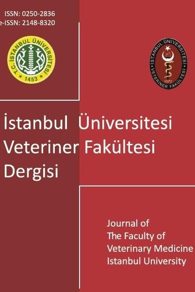 İstanbul Üniversitesi Veteriner Fakültesi Dergisi