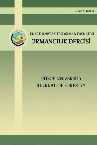 Düzce University Faculty of Forestry Journal of Forestry