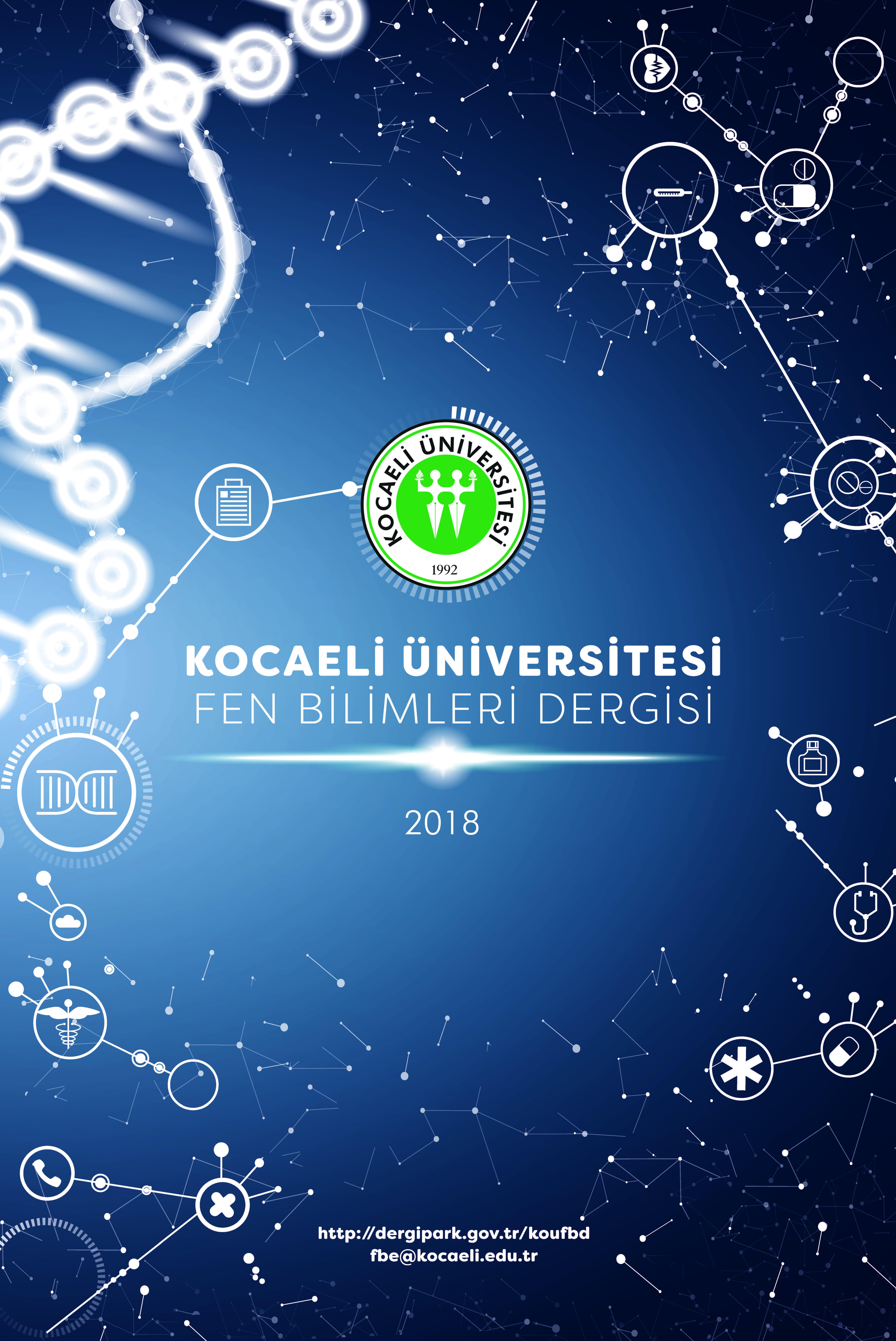 Kocaeli Üniversitesi Fen Bilimleri Dergisi