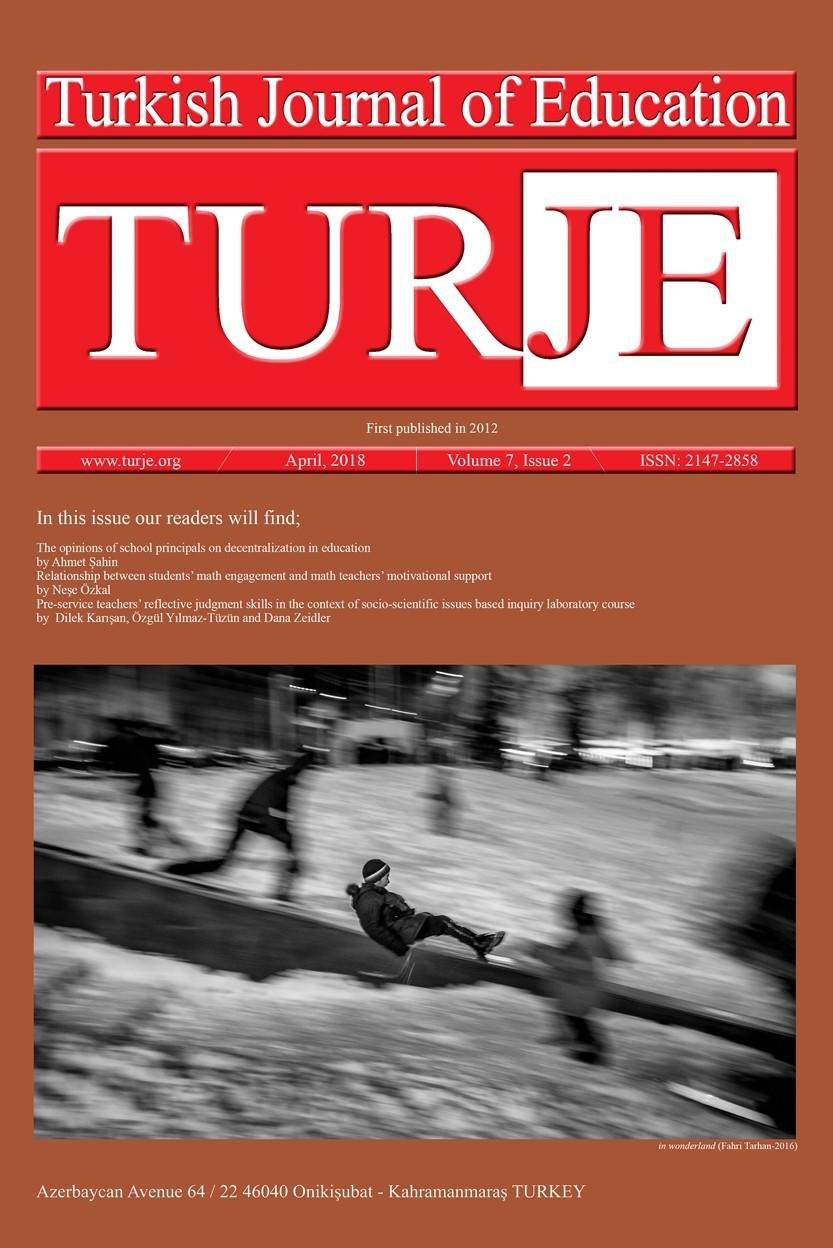 Turkish Journal of Education