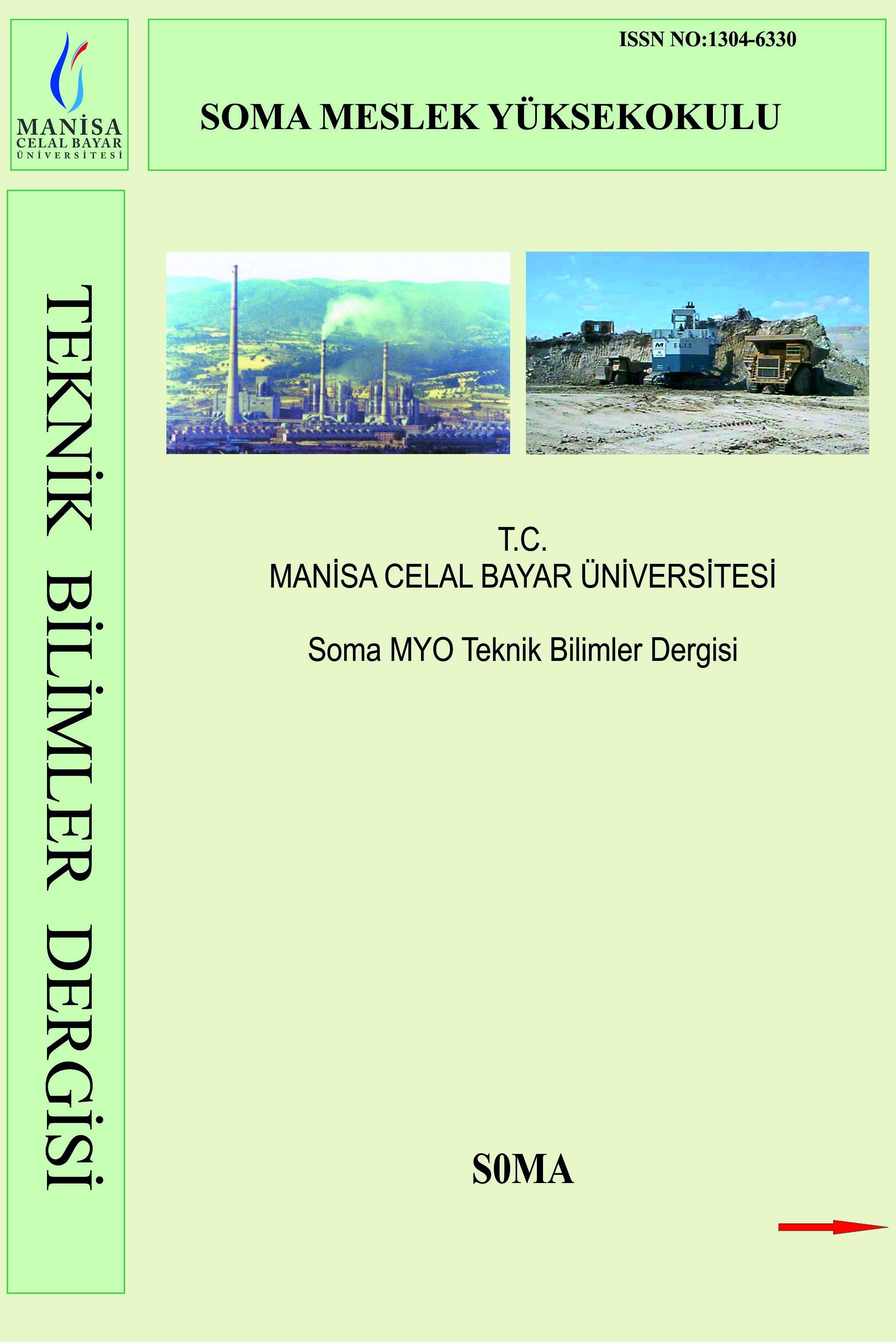 Soma Meslek Yüksekokulu Teknik Bilimler Dergisi