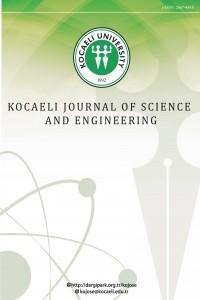 Kocaeli Journal of Science and Engineering
