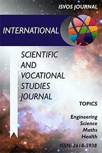 International Scientific and Vocational Studies Journal