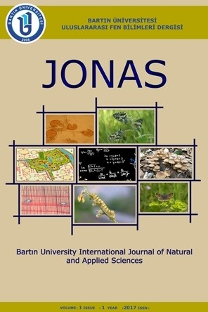 Bartın University International Journal of Natural and Applied Sciences